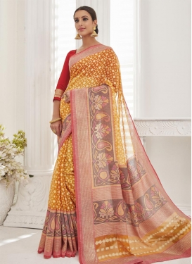 Opulent Resham Work  Contemporary Saree