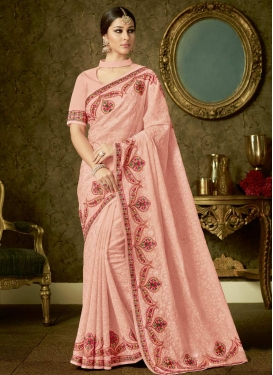 Organza Contemporary Saree