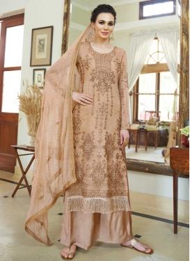Organza Palazzo Style Pakistani Salwar Suit