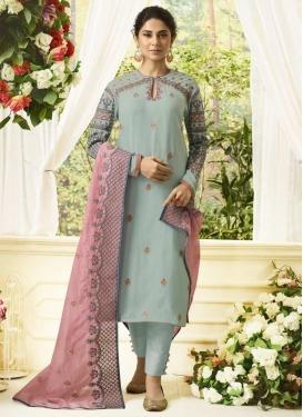 Organza Pant Style Pakistani Salwar Kameez