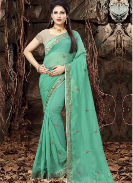 Organza Trendy Saree