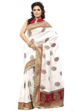 Orphic Booti And Stone Work Designer Saree