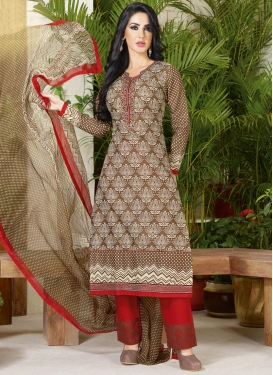 Outstanding Lace Work Pant Style Pakistani Suit For Ceremonial
