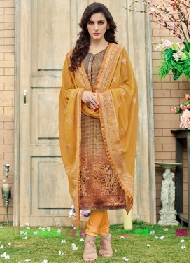 Pakistani Straight Salwar Kameez For Festival