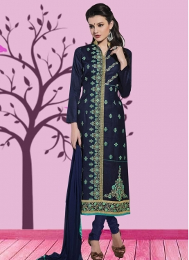 Pakistani Straight Salwar Suit For Ceremonial