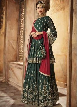 Palazzo Designer Salwar Suit For Festival