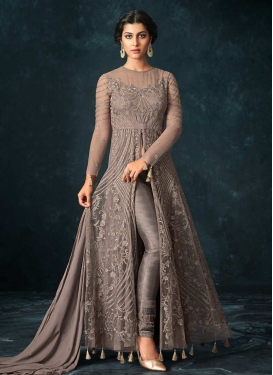 Pant Style Designer Salwar Suit For Ceremonial