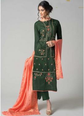 Pant Style Designer Salwar Suit For Ceremonial