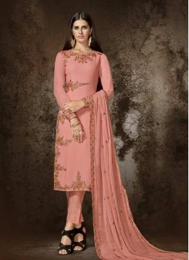 Pant Style Pakistani Salwar Kameez For Ceremonial
