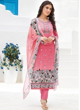 Pant Style Pakistani Suit For Ceremonial