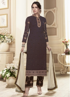 Pant Style Pakistani Suit For Ceremonial
