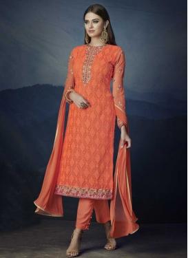 Pant Style Salwar Kameez For Festival