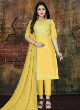 Pant Style Salwar Suit For Casual