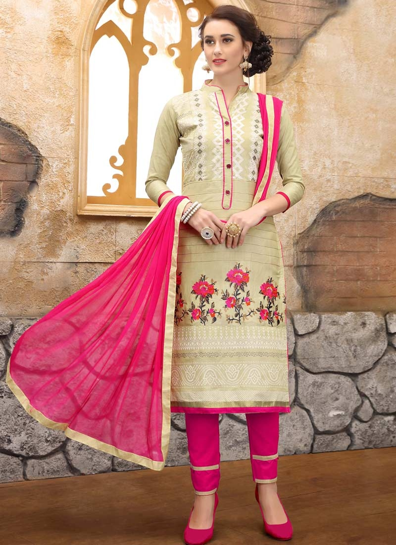 Pant Style Salwar Suit For Ceremonial