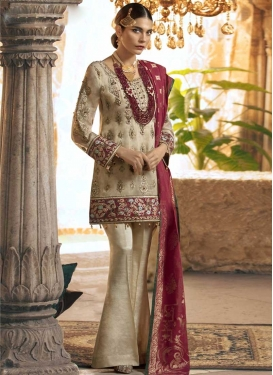 Pant Style Straight Salwar Kameez