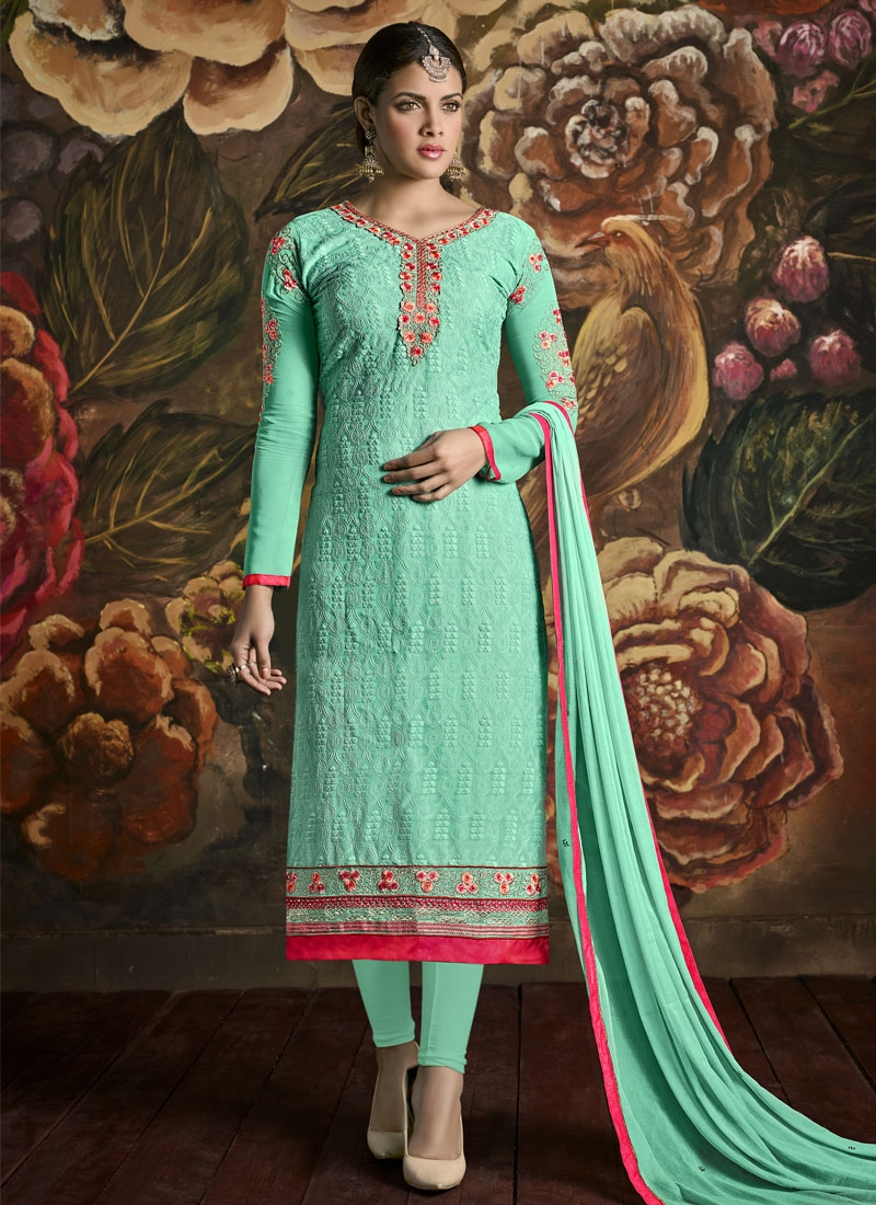 Paramount Booti And Stone Work Party Wear Salwar Suit