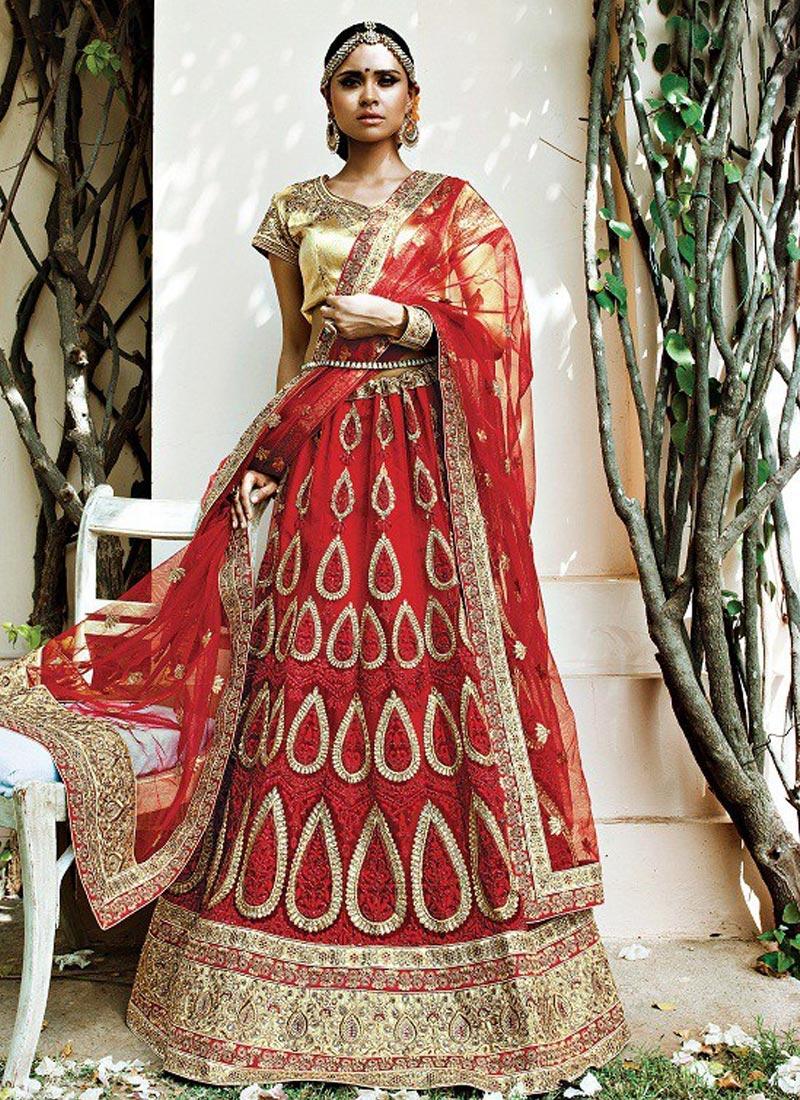 Paramount  Designer Classic Lehenga Choli For Bridal