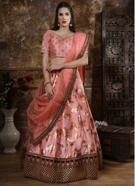 Patch Border Work Trendy A Line Lehenga Choli