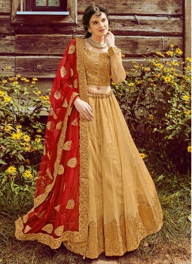 Patch Border Work Trendy Lehenga Choli