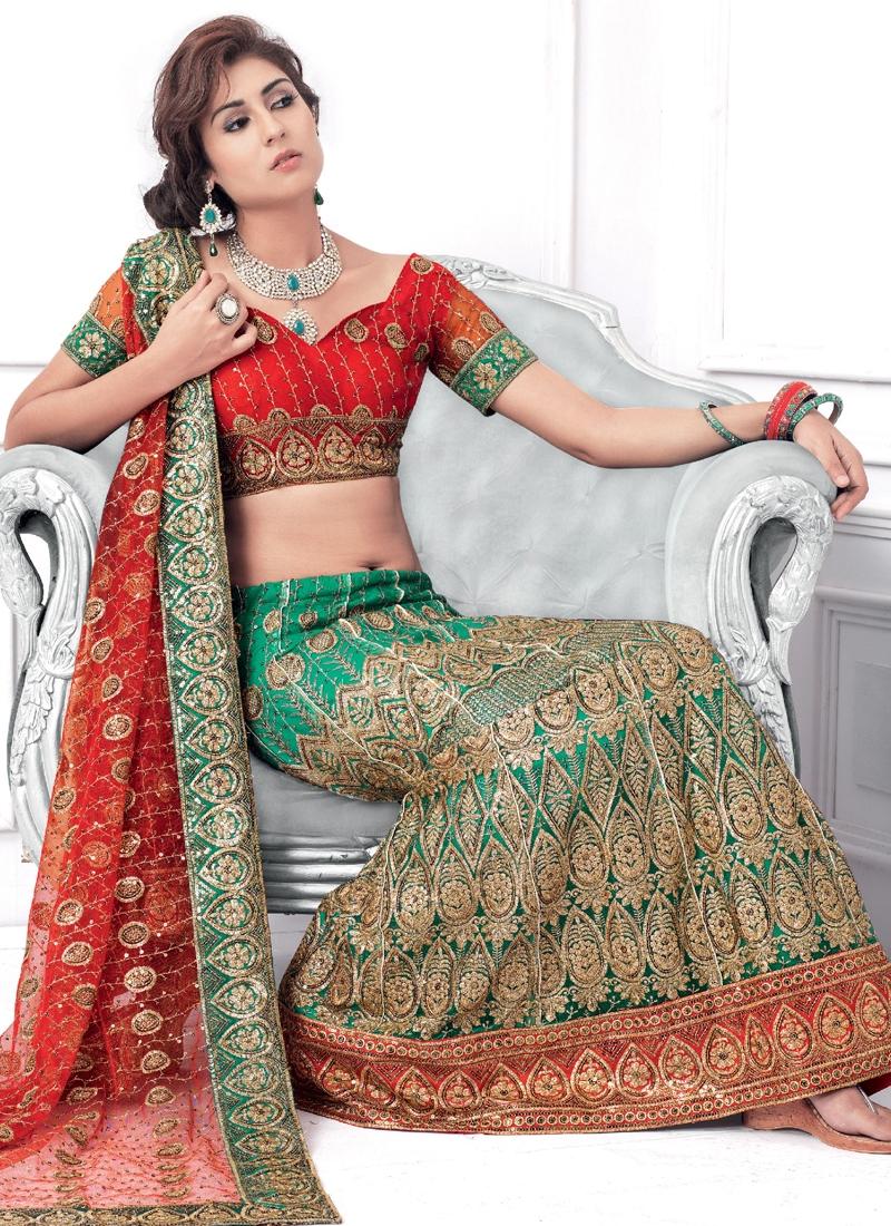Patch Enhanced Party Wear Lehenga Choli