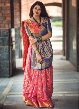 Patola Silk Contemporary Style Saree
