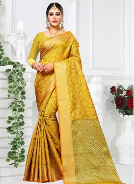 Patola Silk Designer Contemporary Style Saree