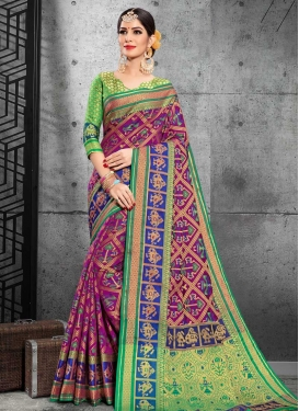 Patola Silk Trendy Classic Saree