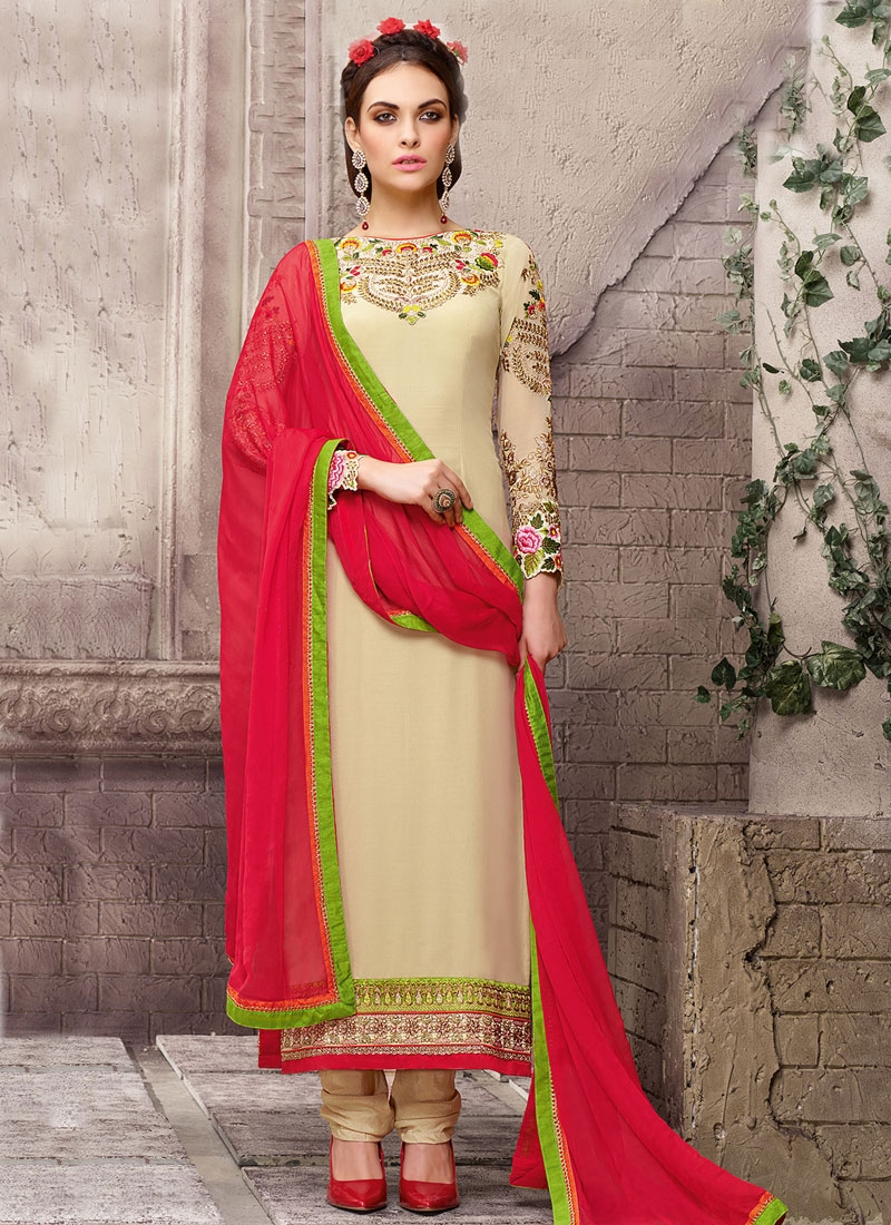 Peppy Sequins Work Long Length Pakistani Salwar Kameez