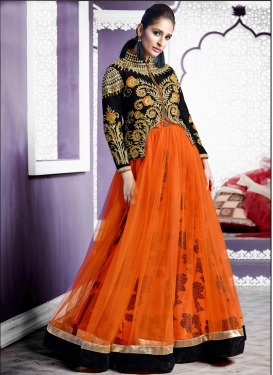 Perfect Net Long Choli Lehenga