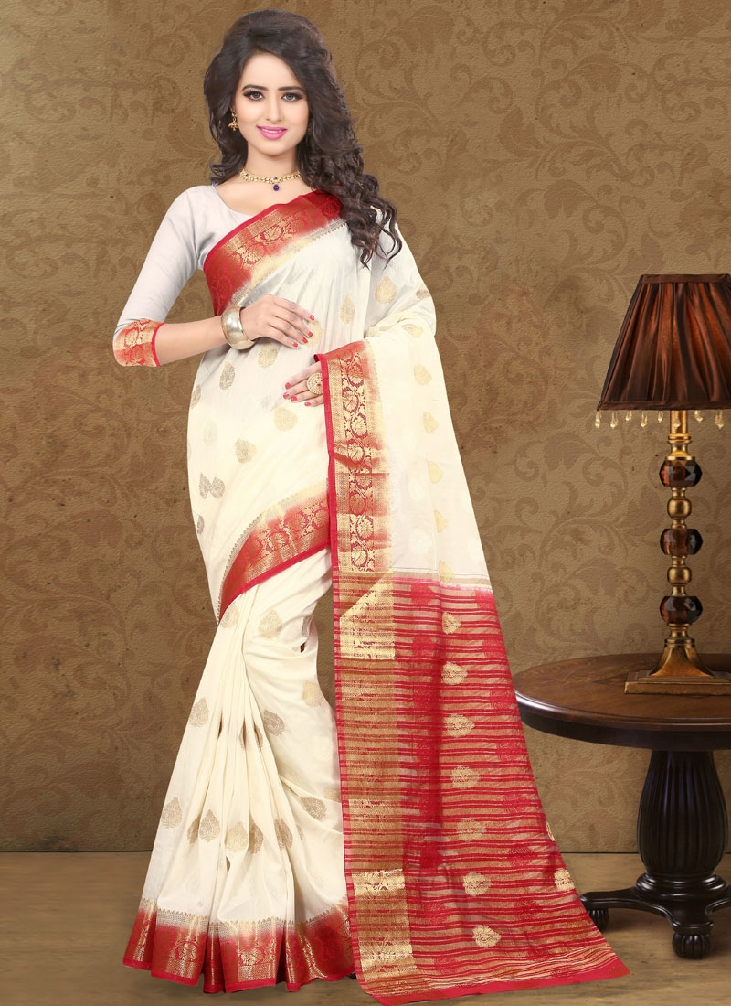 Perfervid Art Silk Party Wear Saree