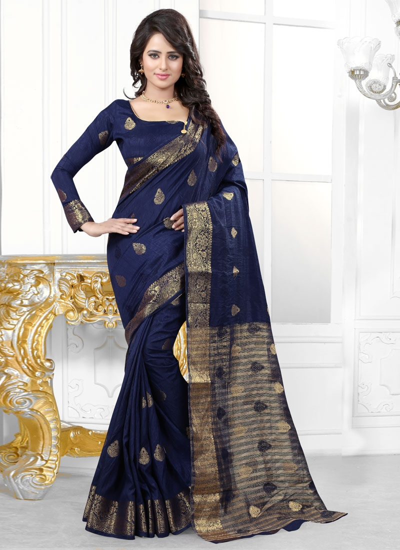 Perfervid Banarasi Silk Party Wear Saree