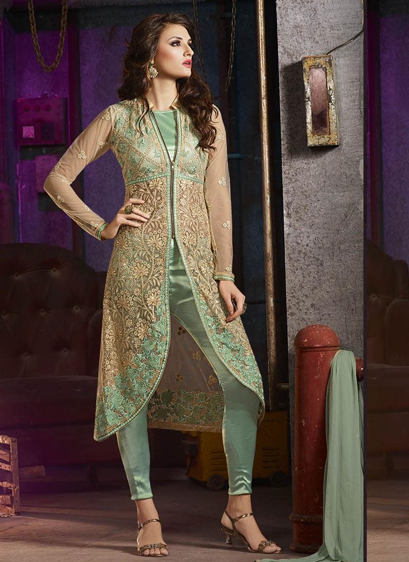 Perfervid Sequins Work Pant Style Designer Salwar Suit