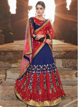 Phenomenal Mirror And Stone Work Wedding Lehenga Choli