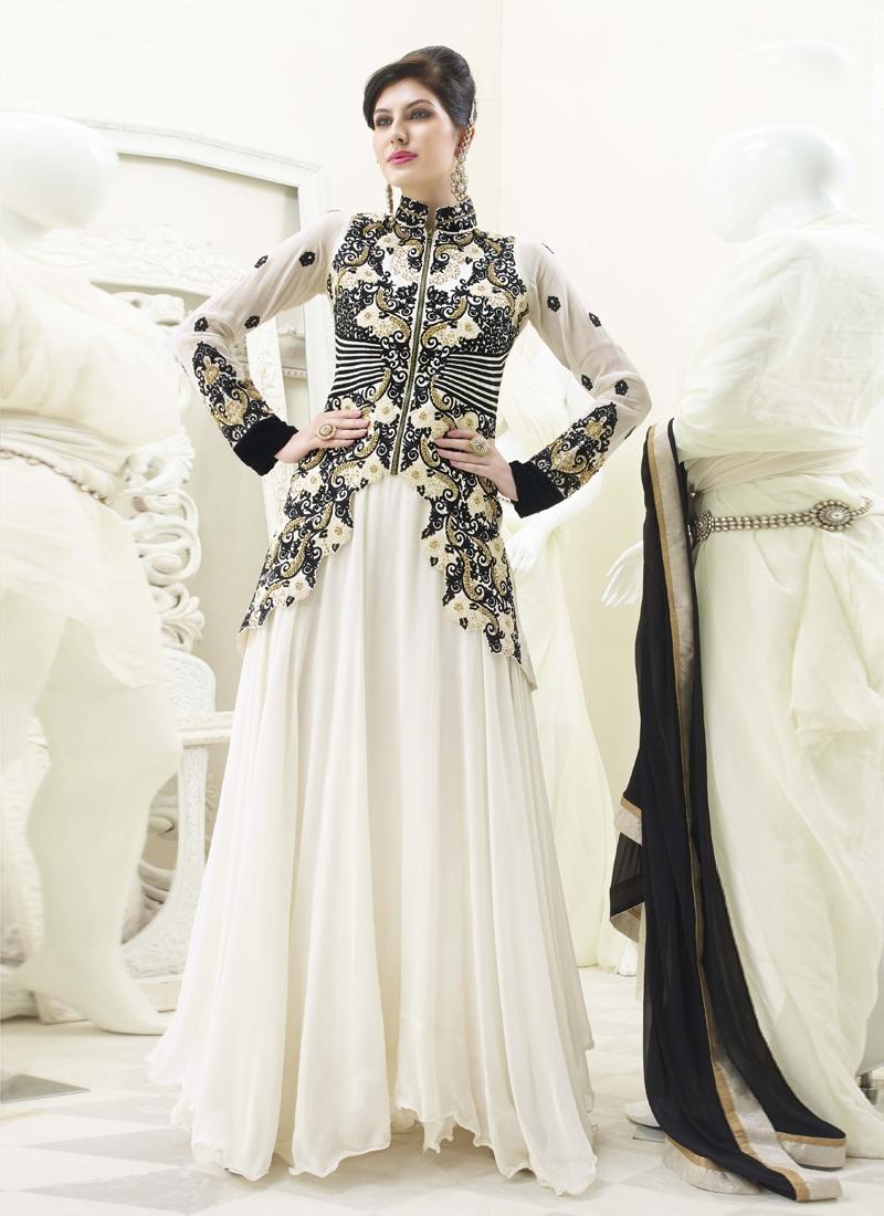 840dee6b3d Phenomenal Off White Color Designer Salwar Kameez