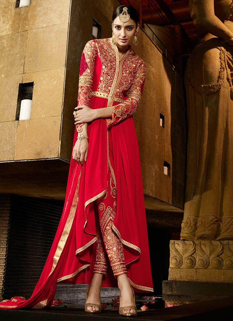 Piquant Stone Work Pant Style Designer Salwar Kameez