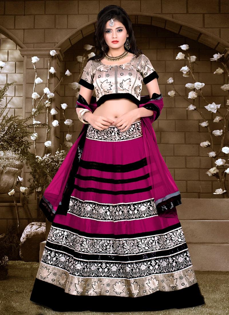 Pleasance Sequins Work Designer Lehenga Choli