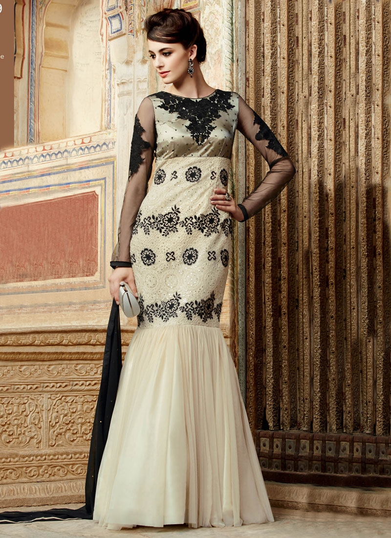 Pleasing Sequins Work Designer Salwar Kameez