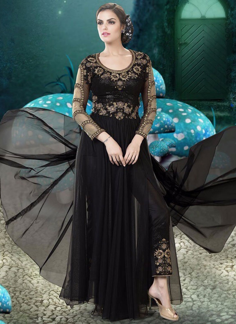 96807c3eed Pleasing Stone Work Party Wear Readymade Gown