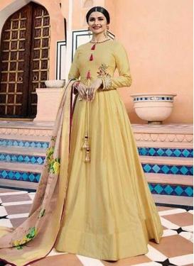 Prachi Desai Art Silk Long Length Salwar Kameez