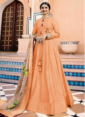 Prachi Desai Art Silk Trendy Designer Salwar Kameez