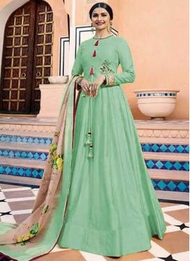 Prachi Desai Embroidered Work Floor Length Designer Salwar Suit