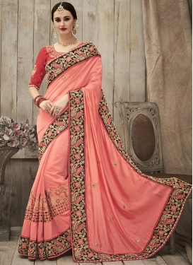 Praiseworthy  Designer Contemporary Style Saree