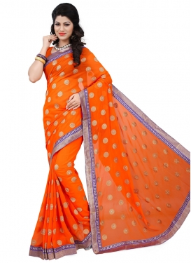 Praiseworthy Stone Work Party Wear Saree