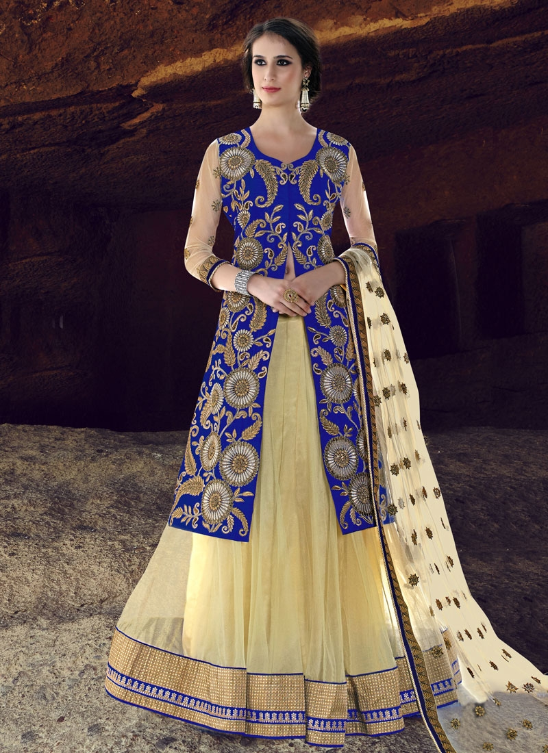 Precious Embroidery Work Kameez Style Designer Lehenga Choli