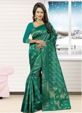 Precious Thread Work Classic Saree