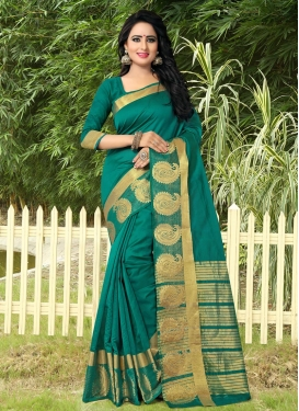 Precious Thread Work Trendy Classic Saree