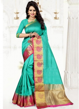Precious Thread Work Trendy Saree