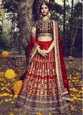 Precious  Trendy A Line Lehenga Choli For Bridal