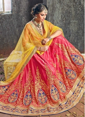 Preferable Booti And Embroidery Work Wedding Lehenga Choli
