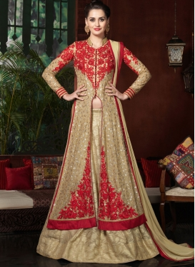Preferable Sequins Work Kameez Style Designer Lehenga Choli